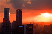 Оранжевый цвет / Сингапур