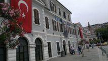 Фасад вокзала Басмание / Турция