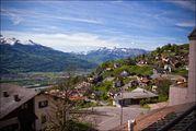 Вид на центр города / Лихтенштейн