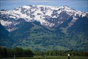Вид на Альпы / Лихтенштейн