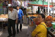 Торговцы на базаре / Узбекистан