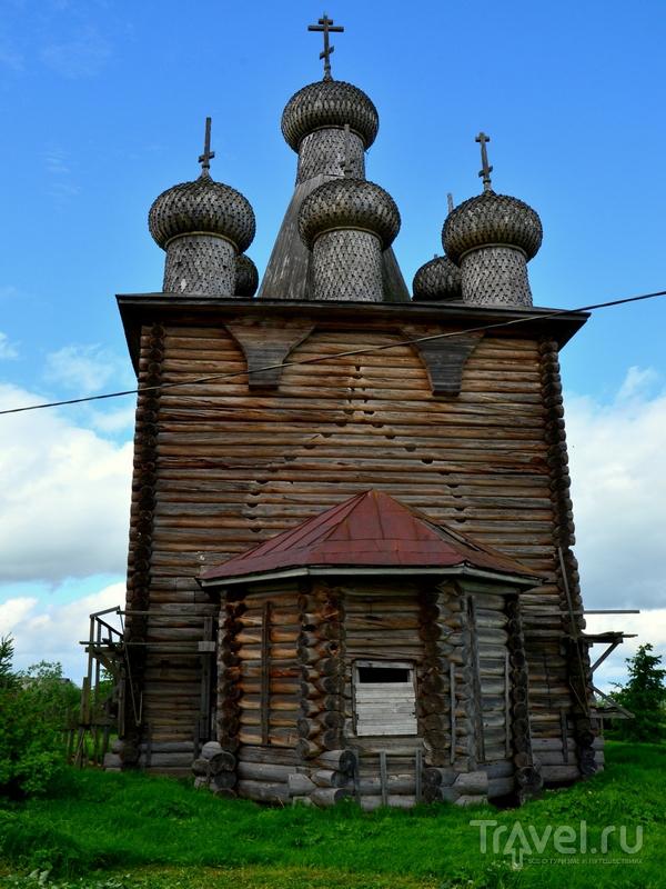 Храм Покрова Божией Матери в Заостровском погосте / Фото из России