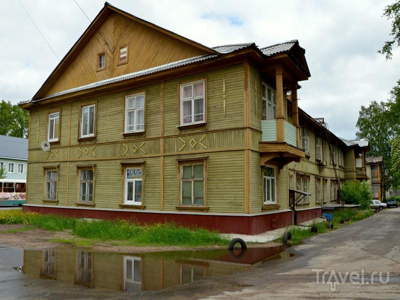 Деревянный дом в Северодвинске / Фото из России