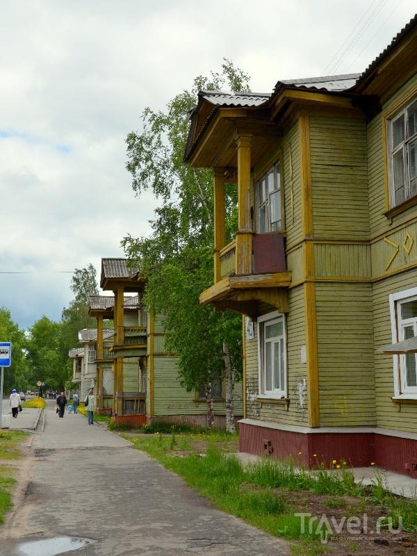 Деревянные дома в Северодвинске / Фото из России