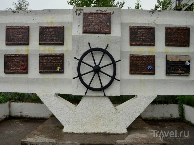 Монумент в Архангельской области / Фото из России