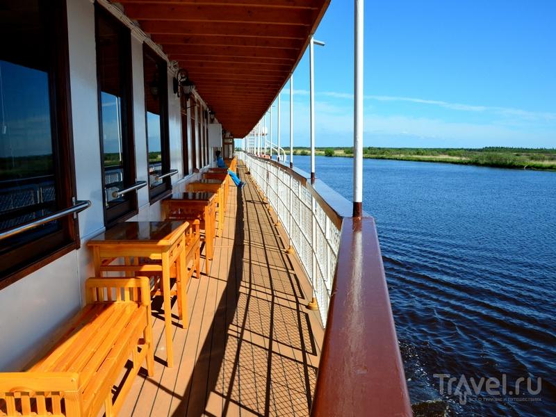 Палуба парохода «Н. В. Гоголь» / Фото из России