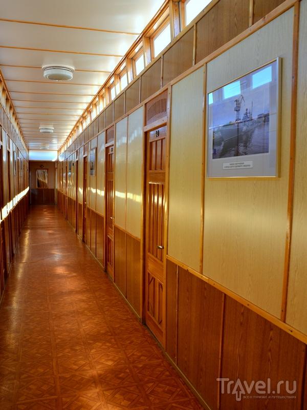 Коридор на пароходе «Н. В. Гоголь» / Фото из России