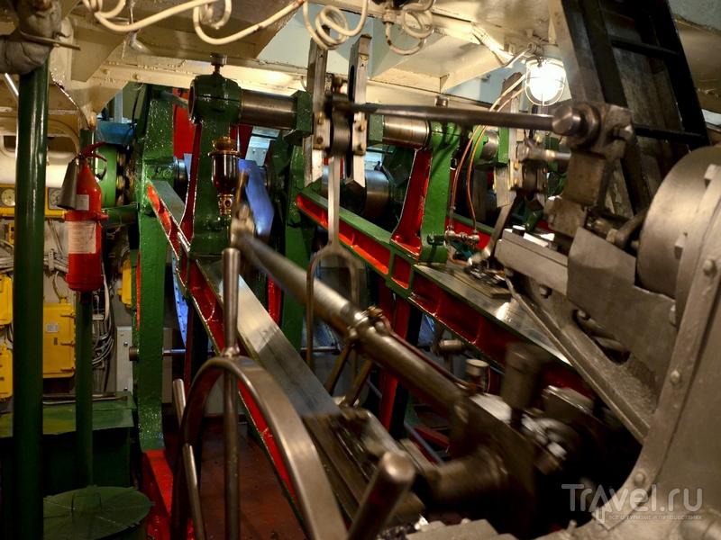 Машинное отделение парохода «Н. В. Гоголь» / Фото из России