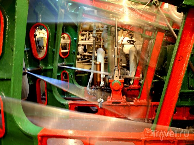 В машинном отделении парохода «Н. В. Гоголь» / Фото из России