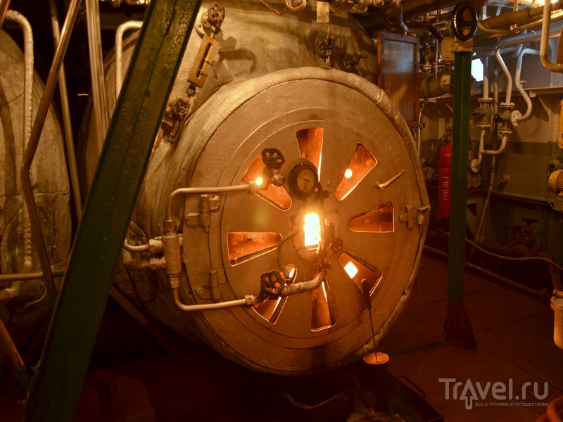 Паровой котел парохода «Н. В. Гоголь» / Фото из России
