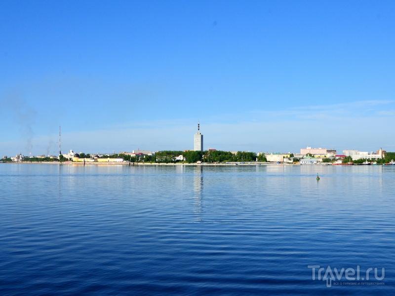 Вид на Архангельск с реки / Фото из России