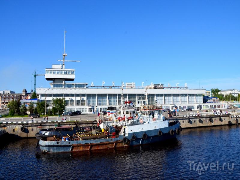 Пристань в Архангельске / Фото из России