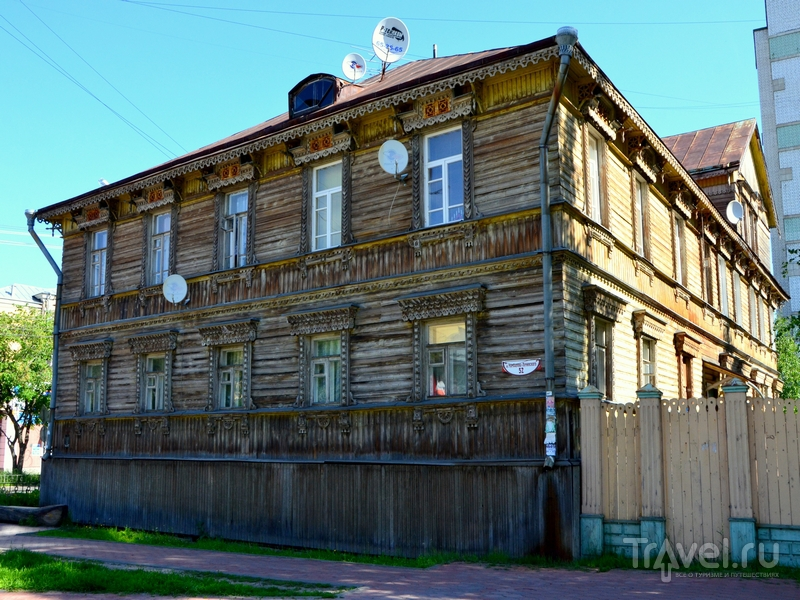 Старинный дом в Архангельске / Фото из России