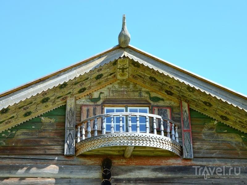 Архитектурные элементы старинного дома / Фото из России