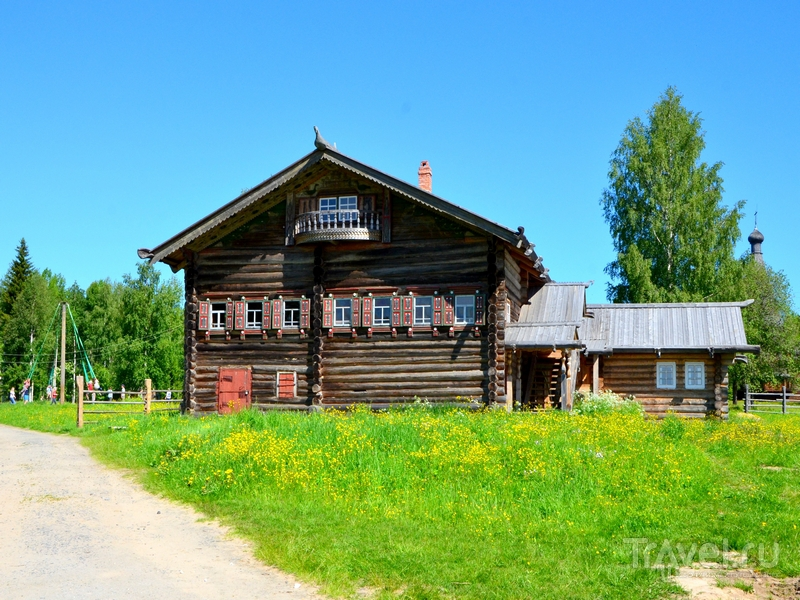 В музее деревянного зодчества Малые Корелы / Фото из России