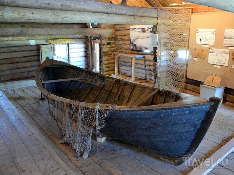 Старинная лодка / Фото из России