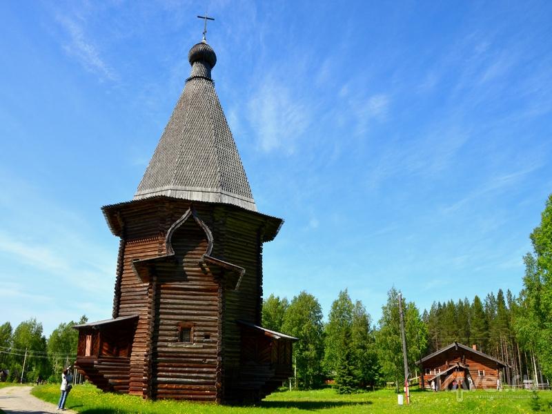 Музей деревянного зодчества Малые Корелы / Фото из России