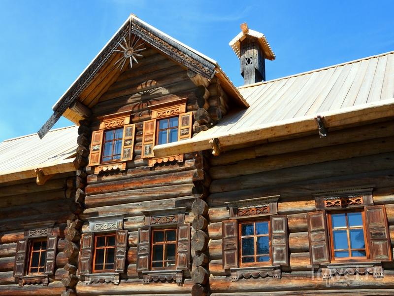 Старинная изба в музее деревянного зодчества Малые Корелы / Фото из России