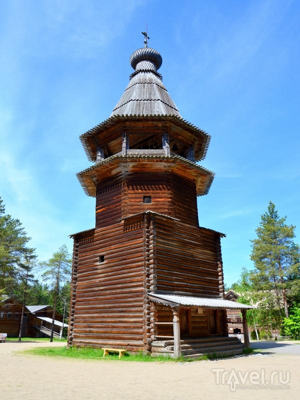 Колокольня из села Кулига Дракованова, XVI век / Фото из России