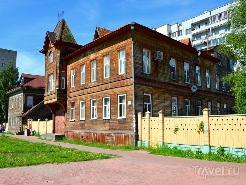 Деревянный дом в Архангельске / Фото из России