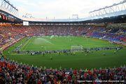 Во время матча / Украина