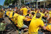 Болельщики сборной Швеции / Украина
