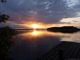 Вид с мостков / Финляндия