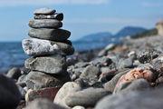 Пирамидки из камней / Украина