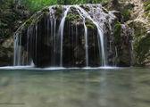 Вид на водопад / Украина