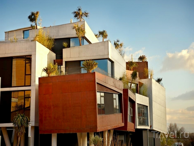 Авангардный отель Viura в винодельческой области Риоха-Алавеса / Испания