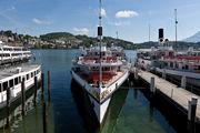 Пристань с корабликами / Швейцария