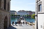 Пешеходный мостик / Швейцария