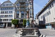 Аляповатый фонтанчик / Швейцария