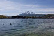 Вид на горы / Швейцария
