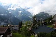 Дорога начинается в Мюррене / Швейцария