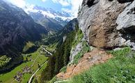 Долина водопадов / Швейцария