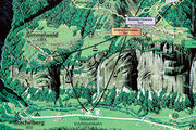 Маршрут на карте / Швейцария