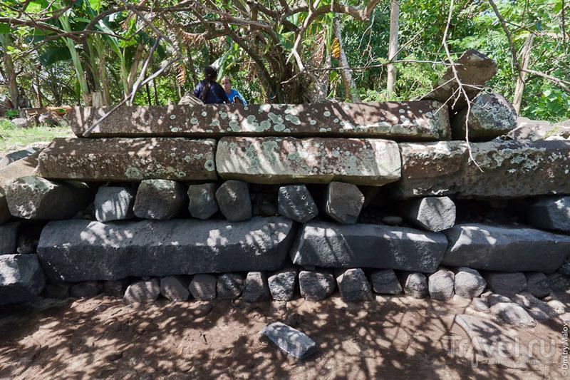 Стены каменного города Нан-Мадол, Микронезия / Фото из Микронезии
