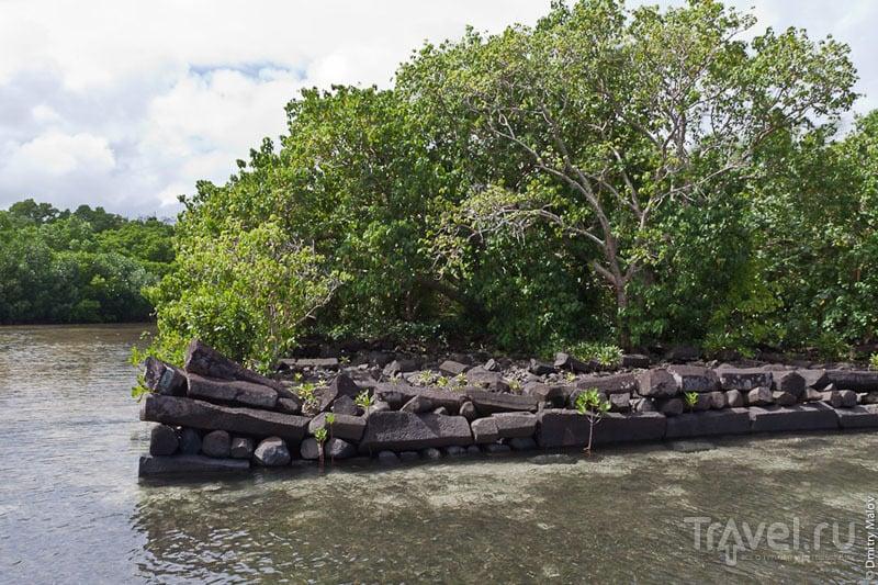 Граница каменного города, Микронезия / Фото из Микронезии
