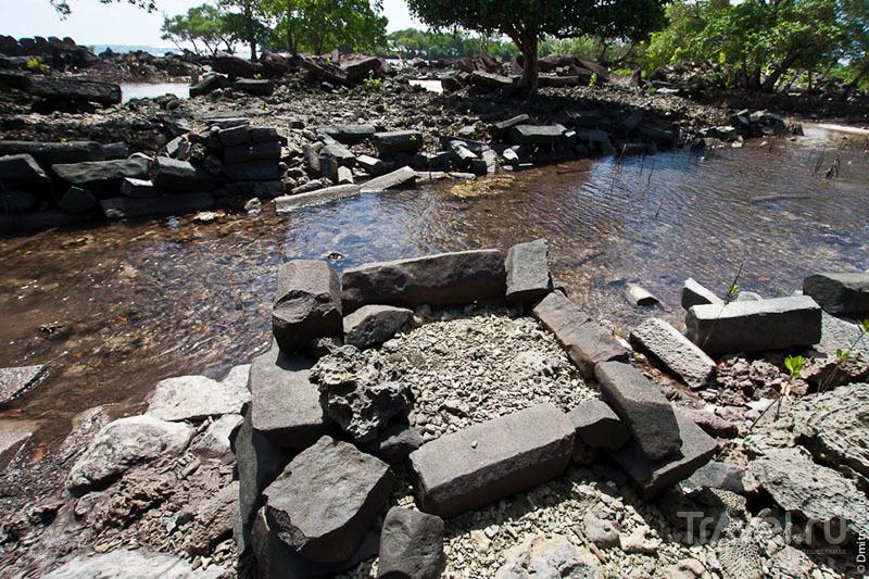 Руины города Нан-Мадол, Микронезия / Фото из Микронезии