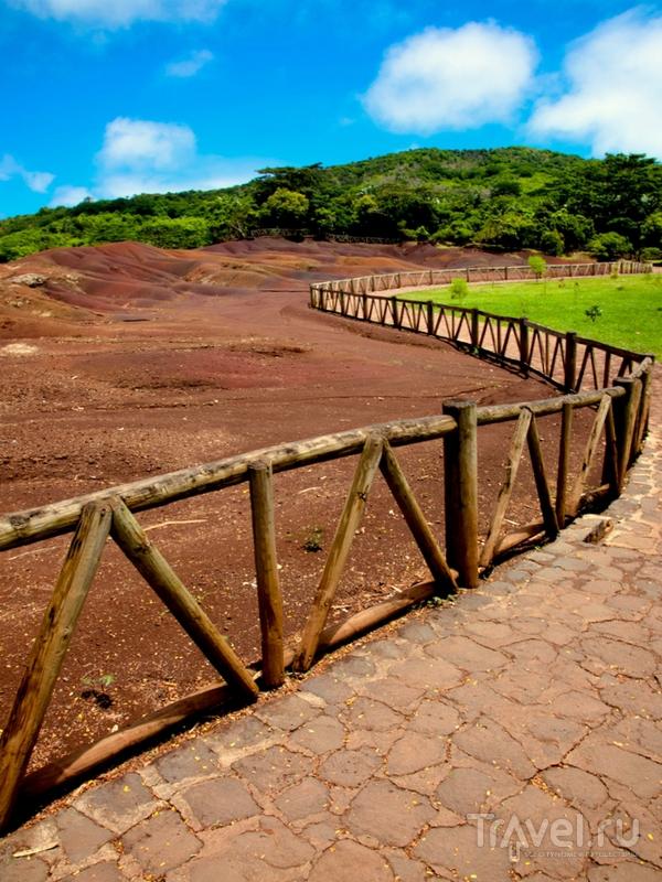 Туристическая тропа для осмотра деревни Шамарель / Маврикий