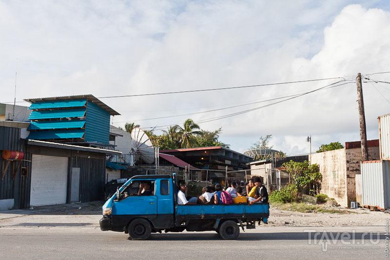 Транспорт на Маджуро / Фото с Маршалловых островов