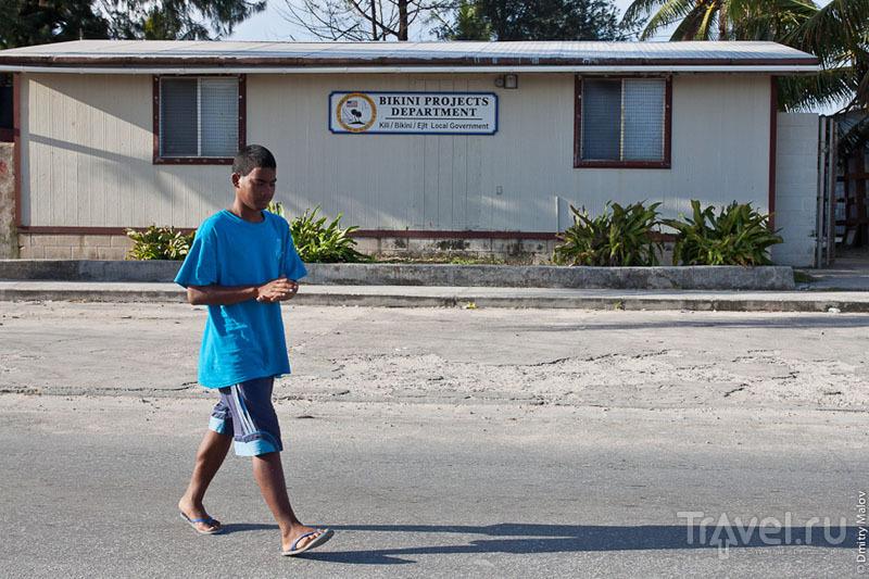 Местный житель острова Маджуро / Фото с Маршалловых островов