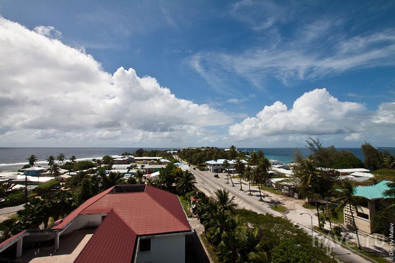 Пейзаж острова Маджуро / Фото с Маршалловых островов