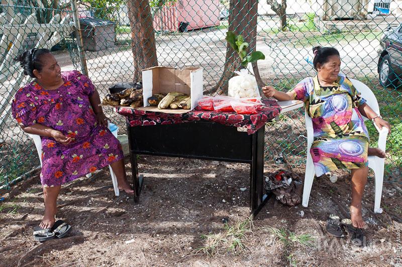 Торговки с Маршалловых островов / Фото с Маршалловых островов