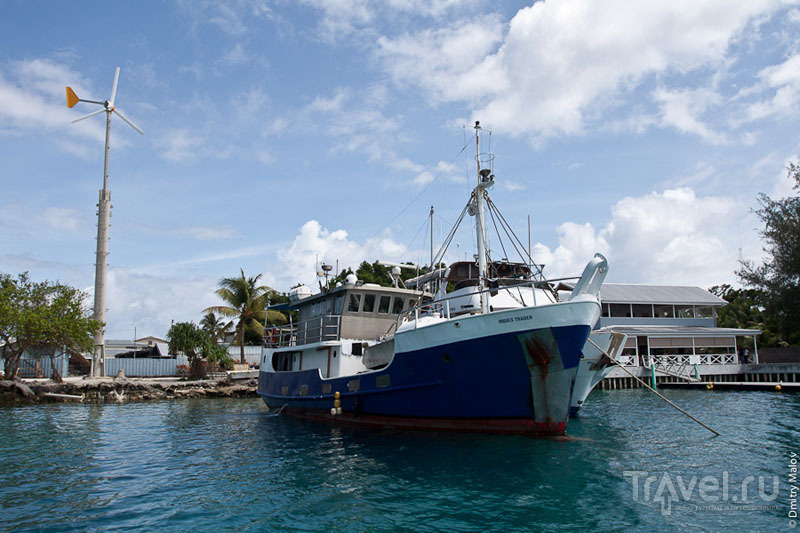 Судно на Маршалловых островах / Фото с Маршалловых островов
