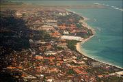 Южный Бали с самолета / Индонезия
