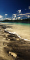 Следы в песке / Индонезия