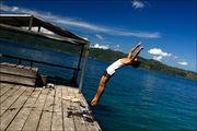 Начало прыжка / Индонезия