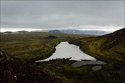 Вид с вулкана / Исландия